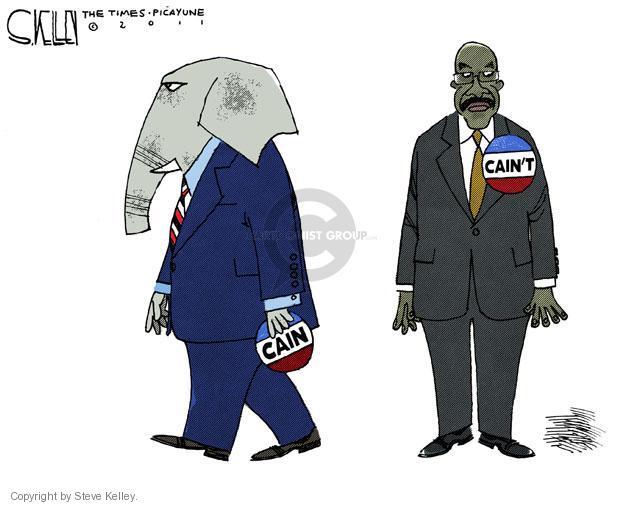 Steve Kelley  Steve Kelley's Editorial Cartoons 2011-11-08 GOP