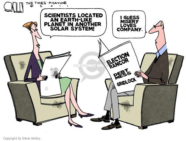 Cartoonist Steve Kelley  Steve Kelley's Editorial Cartoons 2011-12-07 election