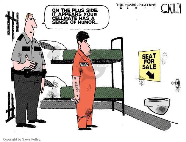 Steve Kelley  Steve Kelley's Editorial Cartoons 2011-12-08 prisoner