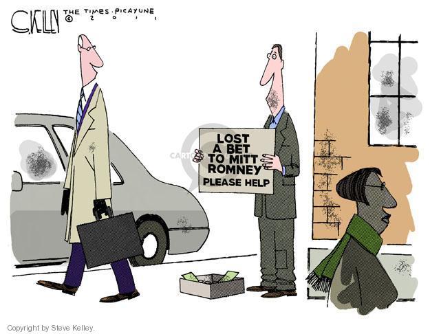 Cartoonist Steve Kelley  Steve Kelley's Editorial Cartoons 2011-12-13 election