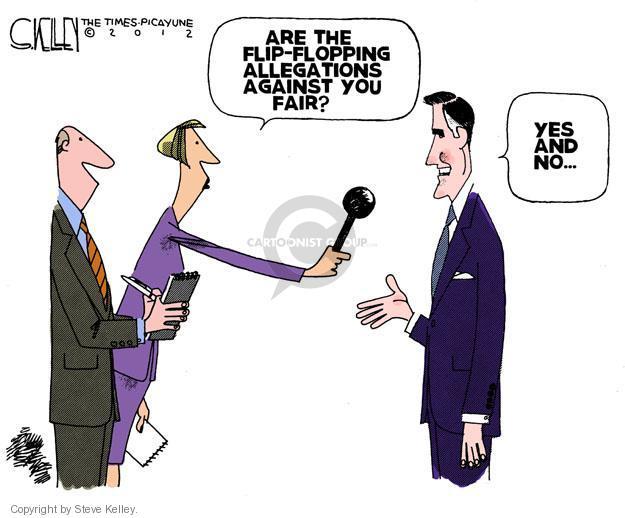 Steve Kelley  Steve Kelley's Editorial Cartoons 2012-01-06 GOP