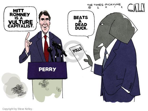 Cartoonist Steve Kelley  Steve Kelley's Editorial Cartoons 2012-01-12 election