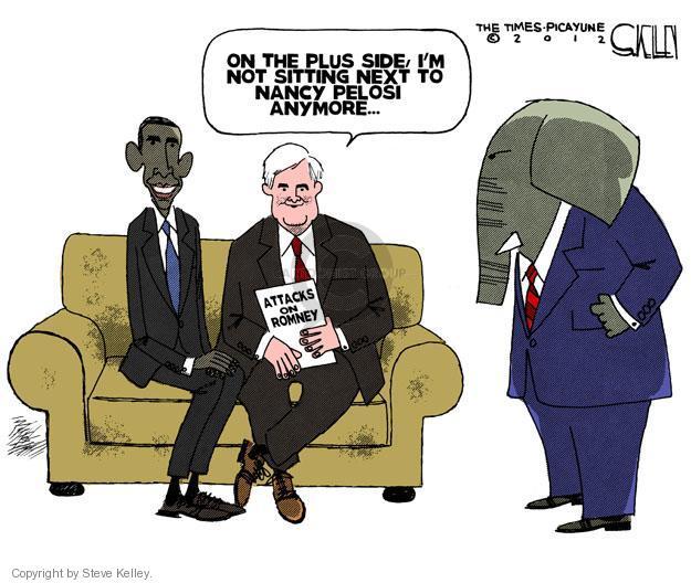 Cartoonist Steve Kelley  Steve Kelley's Editorial Cartoons 2012-01-18 election