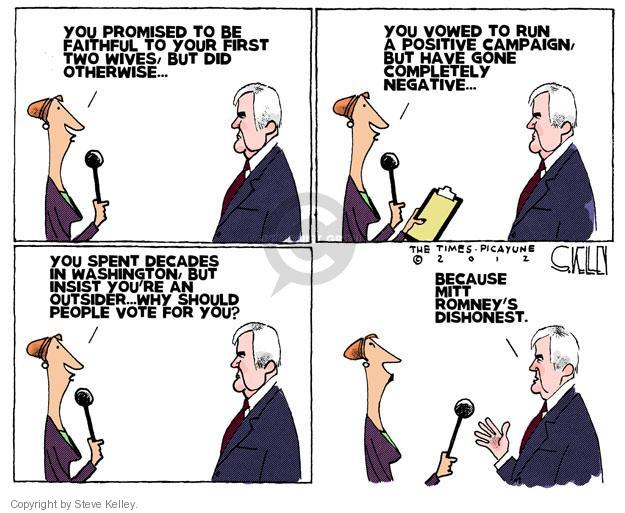 Steve Kelley  Steve Kelley's Editorial Cartoons 2012-01-31 2012 primary