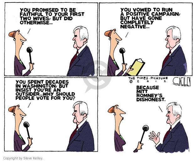 Steve Kelley  Steve Kelley's Editorial Cartoons 2012-01-31 GOP