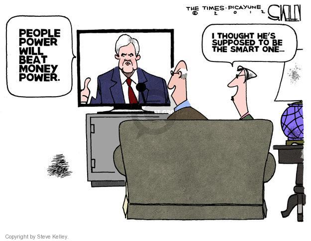 Steve Kelley  Steve Kelley's Editorial Cartoons 2012-02-02 GOP
