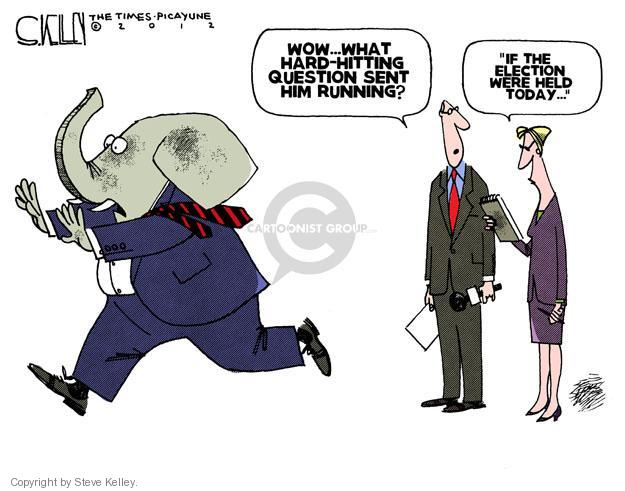 Steve Kelley  Steve Kelley's Editorial Cartoons 2012-02-09 candidate