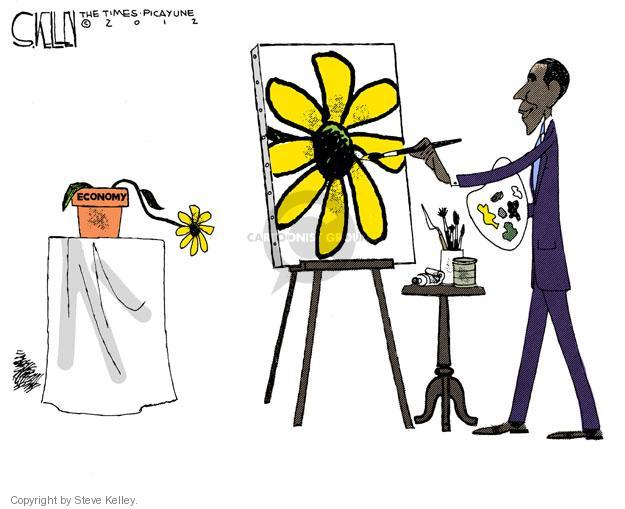 Steve Kelley  Steve Kelley's Editorial Cartoons 2012-02-14 federal budget
