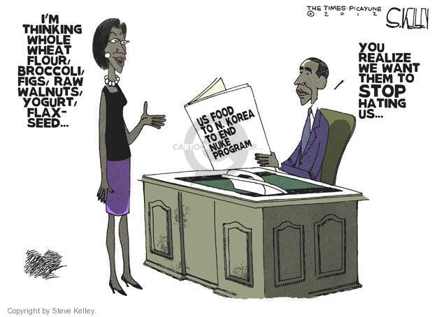 Cartoonist Steve Kelley  Steve Kelley's Editorial Cartoons 2012-03-01 weaponry