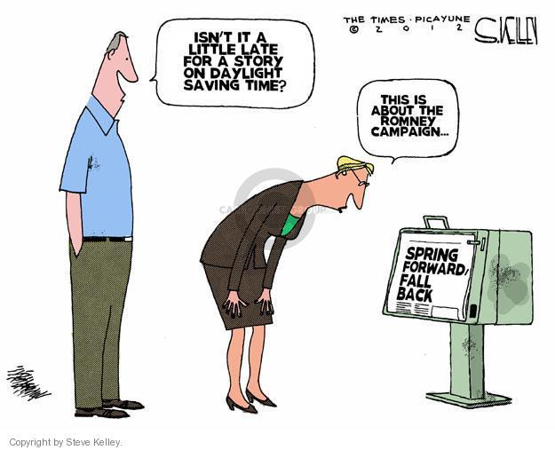 Steve Kelley  Steve Kelley's Editorial Cartoons 2012-03-16 GOP