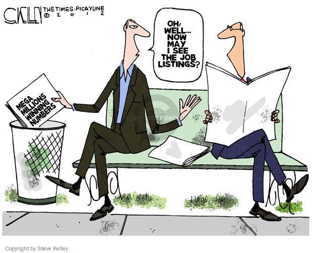 Cartoonist Steve Kelley  Steve Kelley's Editorial Cartoons 2012-04-01 unemployment