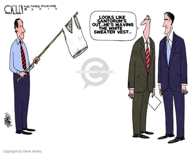 Steve Kelley  Steve Kelley's Editorial Cartoons 2012-04-11 GOP