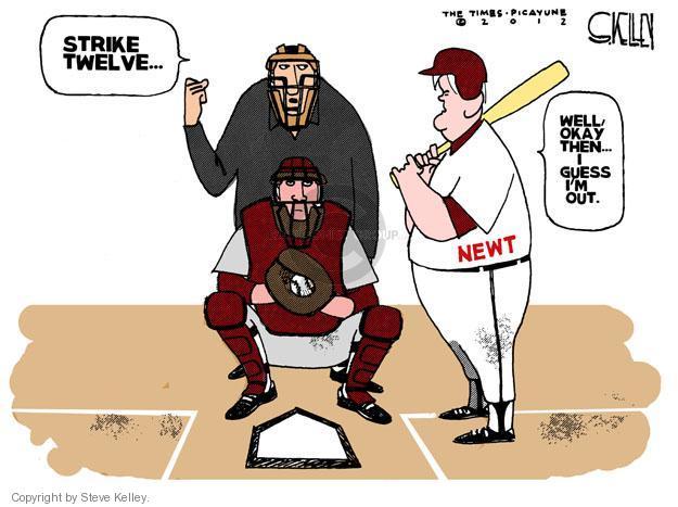 Steve Kelley  Steve Kelley's Editorial Cartoons 2012-05-02 GOP