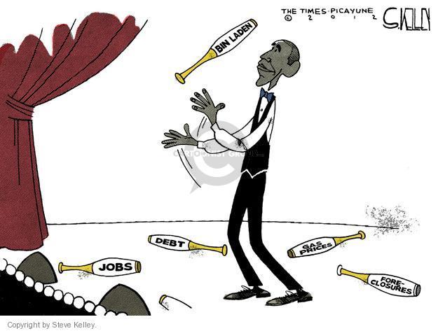 Cartoonist Steve Kelley  Steve Kelley's Editorial Cartoons 2012-05-04 unemployment