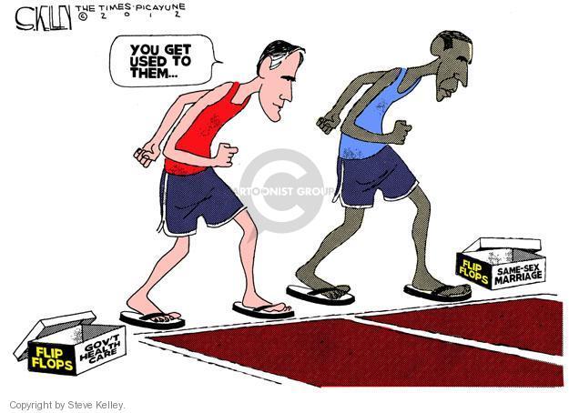 Steve Kelley  Steve Kelley's Editorial Cartoons 2012-05-10 GOP