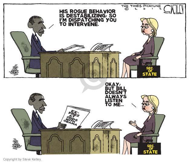Cartoonist Steve Kelley  Steve Kelley's Editorial Cartoons 2012-06-10 election