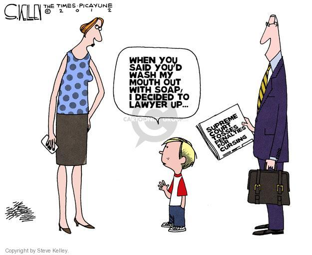 Steve Kelley  Steve Kelley's Editorial Cartoons 2012-06-22 Supreme Court