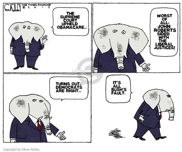 Steve Kelley  Steve Kelley's Editorial Cartoons 2012-06-29 GOP