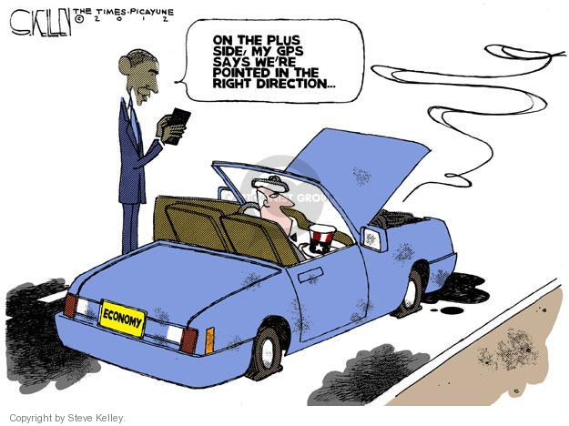Cartoonist Steve Kelley  Steve Kelley's Editorial Cartoons 2012-07-10 recession