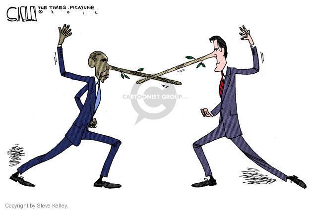 Steve Kelley  Steve Kelley's Editorial Cartoons 2012-07-18 GOP