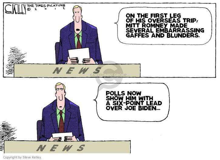 Steve Kelley  Steve Kelley's Editorial Cartoons 2012-07-27 Joe Biden
