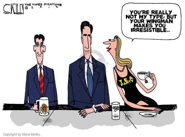 Cartoonist Steve Kelley  Steve Kelley's Editorial Cartoons 2012-08-14 election