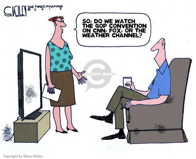 Steve Kelley  Steve Kelley's Editorial Cartoons 2012-08-26 Republican National Committee