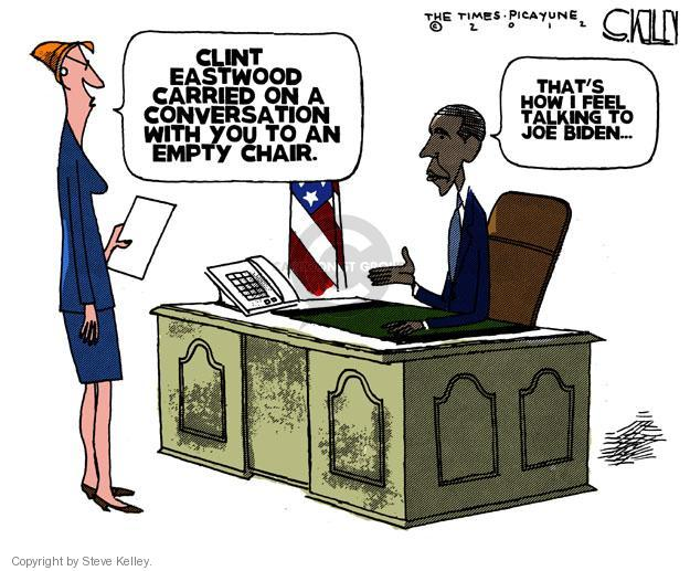 Cartoonist Steve Kelley  Steve Kelley's Editorial Cartoons 2012-09-02 speak