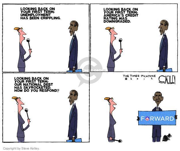 Steve Kelley  Steve Kelley's Editorial Cartoons 2012-09-05 Obama economy