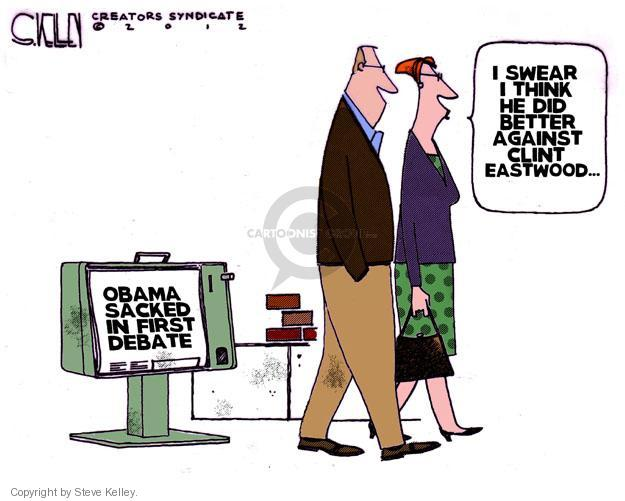 Steve Kelley  Steve Kelley's Editorial Cartoons 2012-10-05 candidate