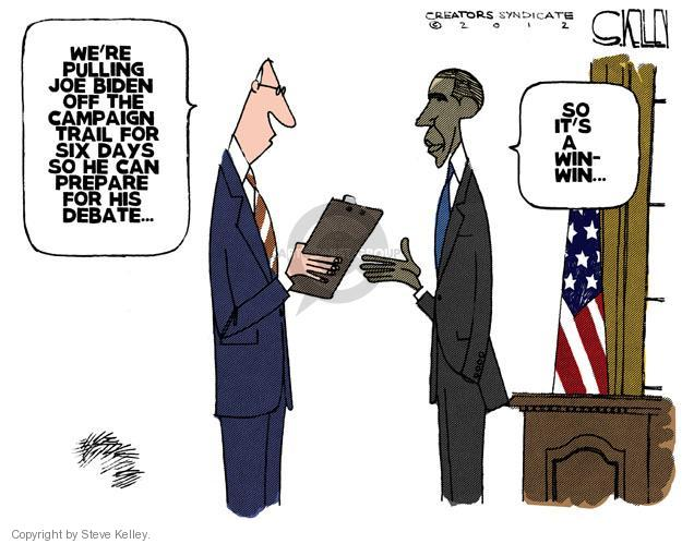 Steve Kelley  Steve Kelley's Editorial Cartoons 2012-10-08 Joe Biden