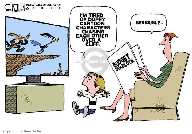Steve Kelley  Steve Kelley's Editorial Cartoons 2012-12-10 GOP