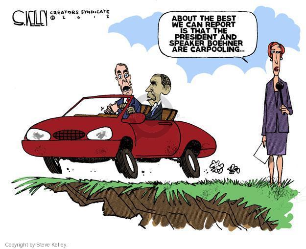 Steve Kelley  Steve Kelley's Editorial Cartoons 2012-12-22 GOP