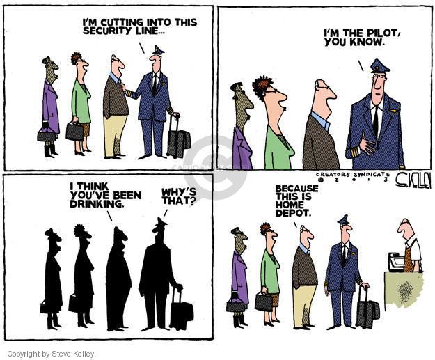 Steve Kelley  Steve Kelley's Editorial Cartoons 2013-01-05 airport