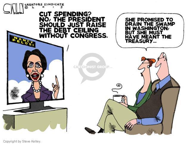 Steve Kelley  Steve Kelley's Editorial Cartoons 2013-01-10 deficit