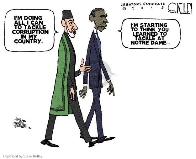 Cartoonist Steve Kelley  Steve Kelley's Editorial Cartoons 2013-01-13 corruption