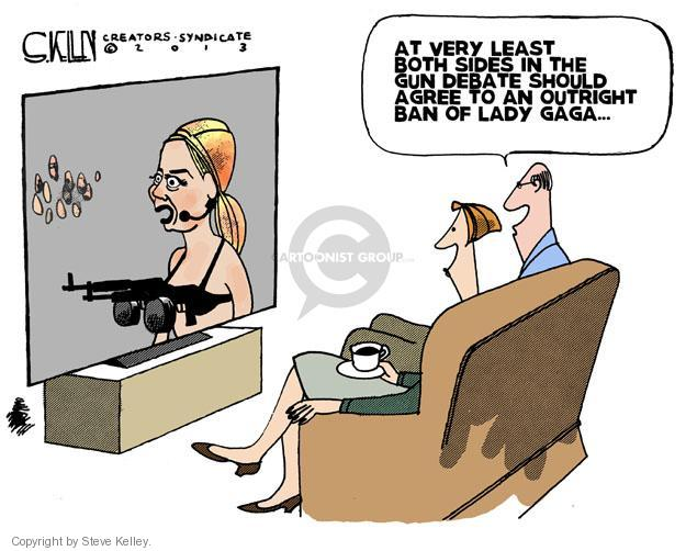 Cartoonist Steve Kelley  Steve Kelley's Editorial Cartoons 2013-01-15 singer