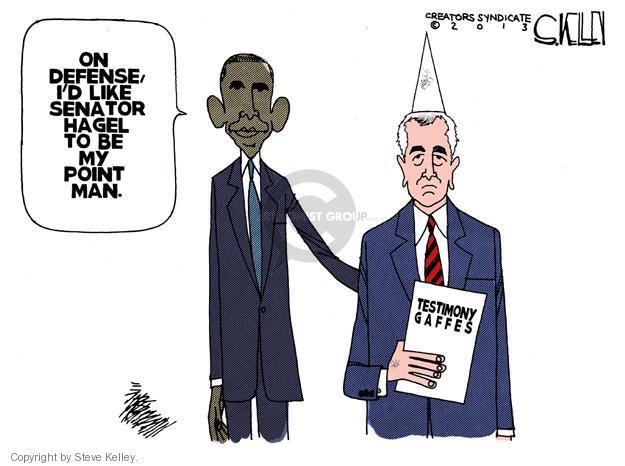 Steve Kelley  Steve Kelley's Editorial Cartoons 2013-02-02 nomination