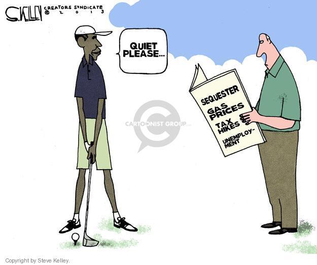 Cartoonist Steve Kelley  Steve Kelley's Editorial Cartoons 2013-02-20 unemployment