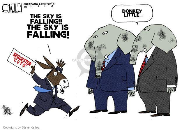 Steve Kelley  Steve Kelley's Editorial Cartoons 2013-02-28 federal budget