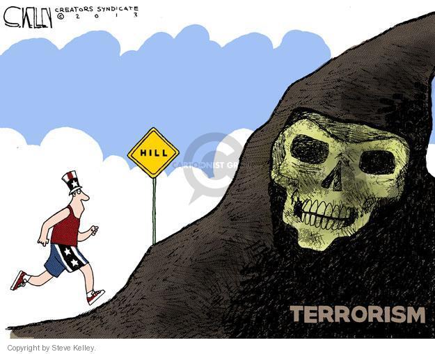 Cartoonist Steve Kelley  Steve Kelley's Editorial Cartoons 2013-04-17 athlete
