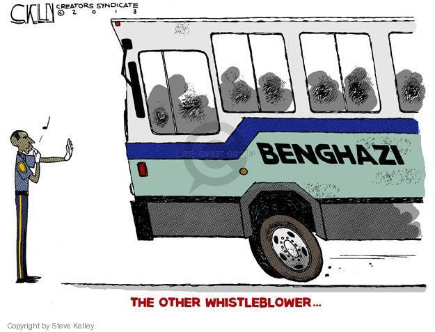 Benghazi. The Other Whistleblower …