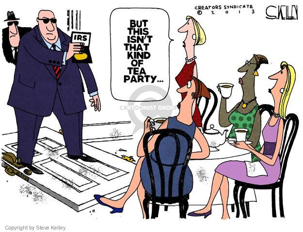 Steve Kelley  Steve Kelley's Editorial Cartoons 2013-05-15 tax review