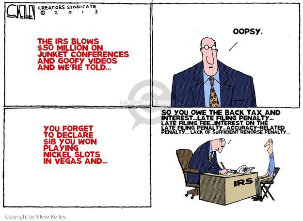 Steve Kelley  Steve Kelley's Editorial Cartoons 2013-06-04 $18
