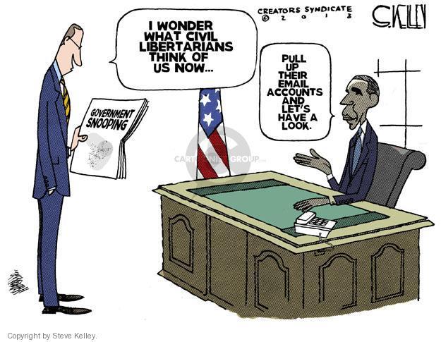 Cartoonist Steve Kelley  Steve Kelley's Editorial Cartoons 2013-06-08 Oval Office