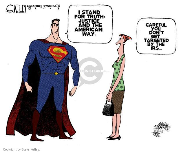 Steve Kelley  Steve Kelley's Editorial Cartoons 2013-06-15 patriotism