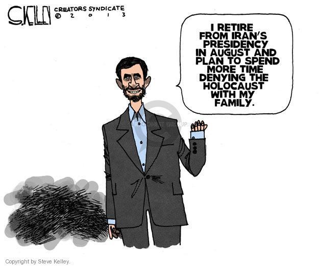 Steve Kelley  Steve Kelley's Editorial Cartoons 2013-06-23 Iran