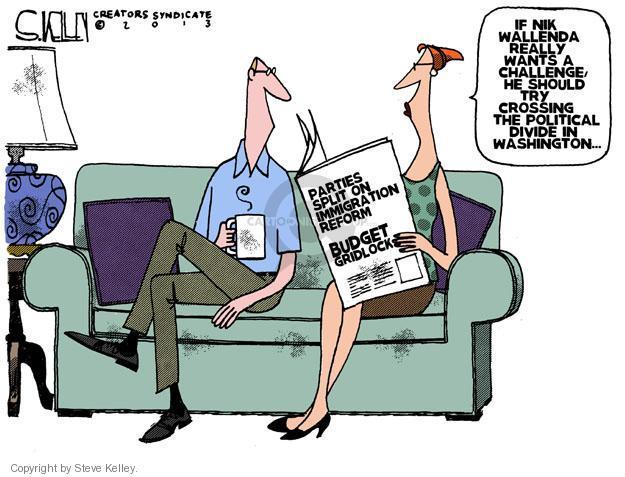 Steve Kelley  Steve Kelley's Editorial Cartoons 2013-06-27 immigration bill
