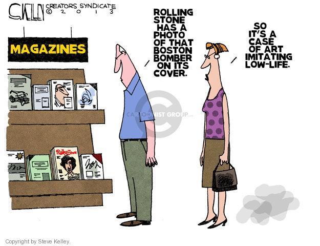 Cartoonist Steve Kelley  Steve Kelley's Editorial Cartoons 2013-07-18 celebrity
