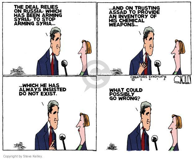 Steve Kelley  Steve Kelley's Editorial Cartoons 2013-09-16 John